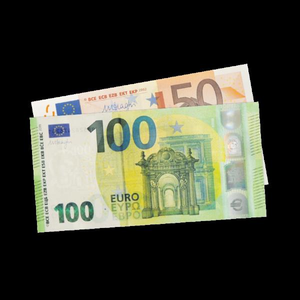 150 Euro aufs Konto