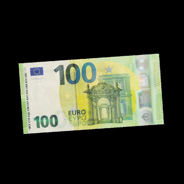 100 Euro aufs Konto