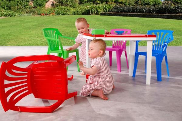BEST FREIZEITMÖBEL Kindersitzgruppe Aladino & Ariel, 5-tlg.