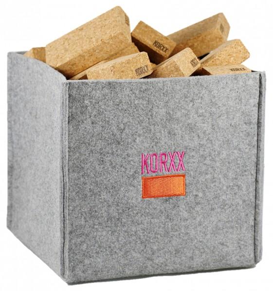KORXX Cuboid M Filzbox 60 tlg.